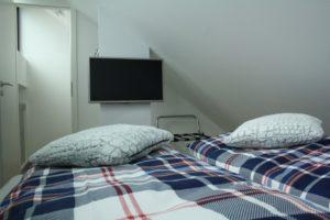 TV im Schlafzimmer